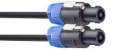Speaker cable, SPK/SPK, 2 m (6')