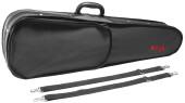 Lightweight violin-shaped soft case for 3/4 violin