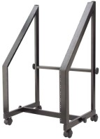 """Fixed 19""""/13U+7U Rack Trolley, for power amps and mixers"""