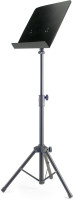 Basic orchestral music stand with metal music rest