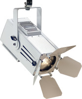 60-watt wash mini spotlight, warm light, white metal case (Mini Wash 60)