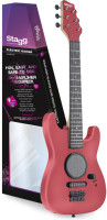 Junior electric guitar with built-in amplification
