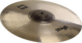 "Dual-hammered 15"" Medium Thin DH Exo Crash"