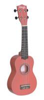 Soprano ukulele in black nylon gigbag