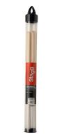 Polybristle nylon brushes with maple handle