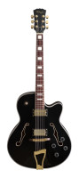 """Jazz""-style electric guitar - Semi-acoustic model"