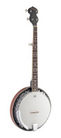 5-string Bluegrass Banjo Deluxe with metal pot