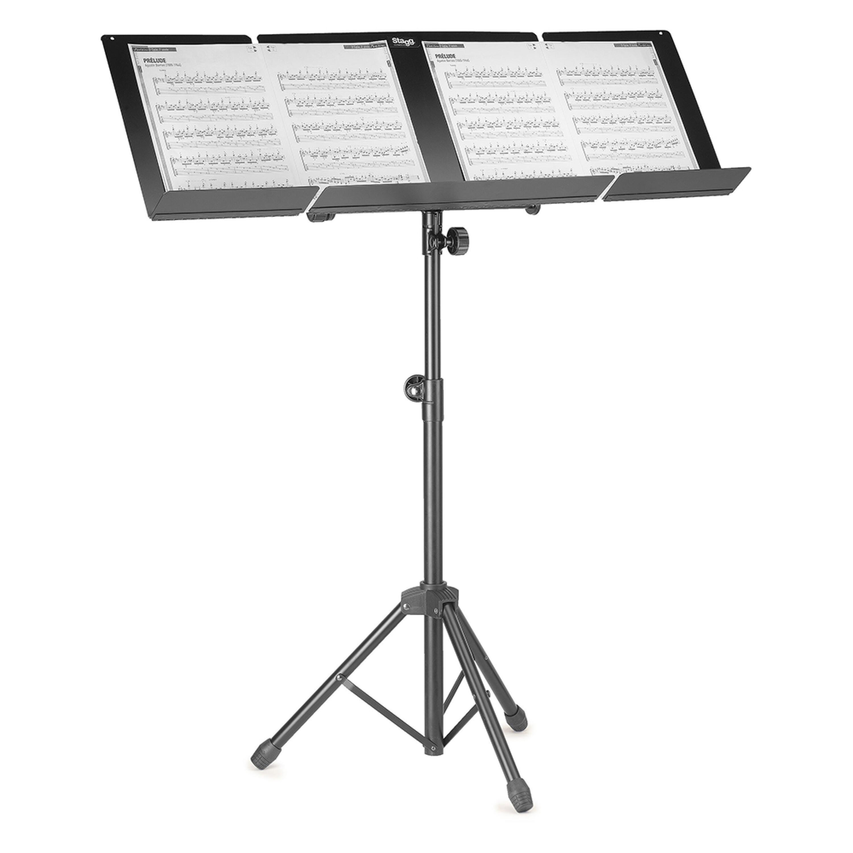 Stagg MUS-A6 BK Dirigentenpult Metall schwarz