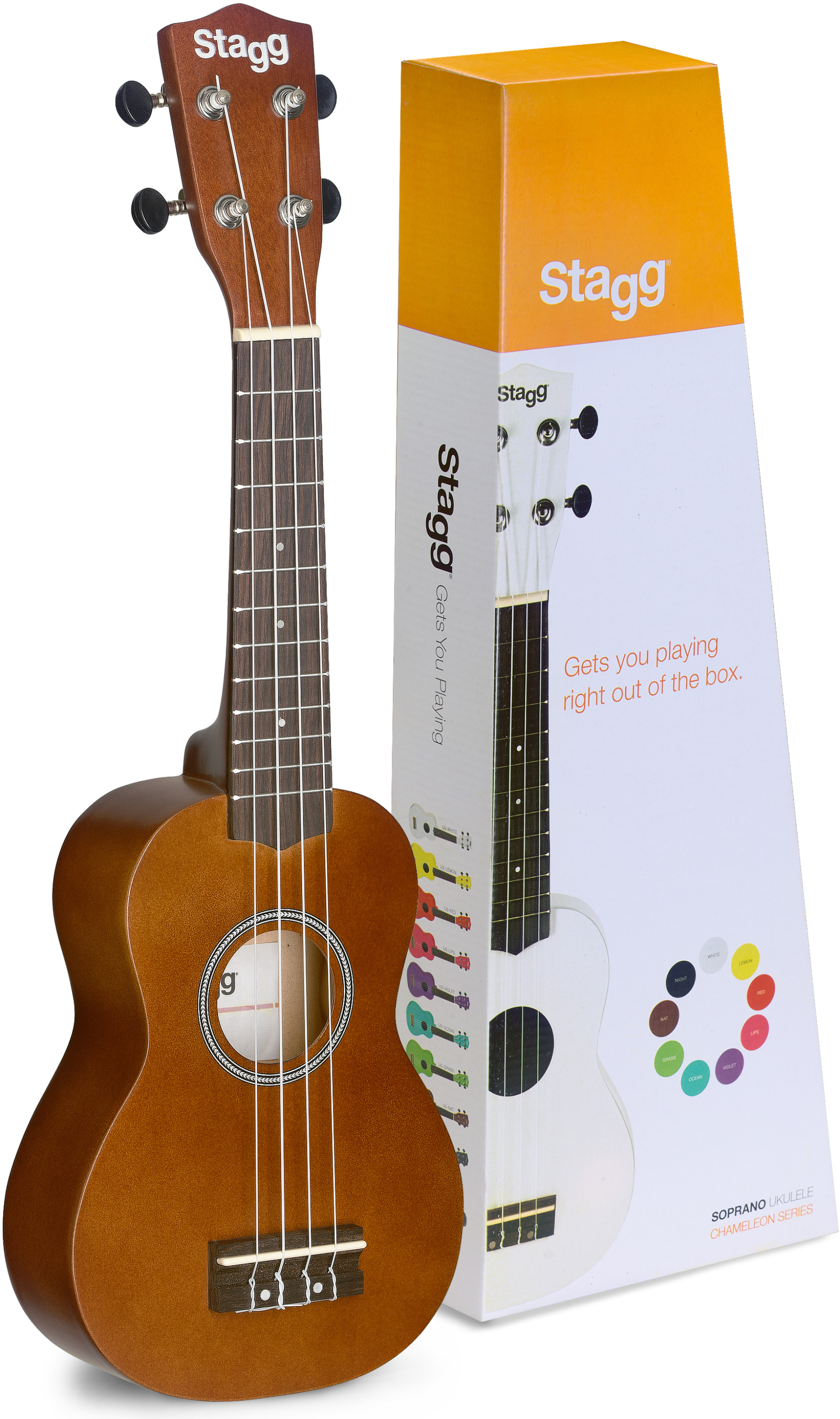 Stagg Soprano Ukulele (http://www.staggmusic.com/)