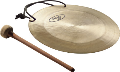 "10"" Wind Gong with beater"