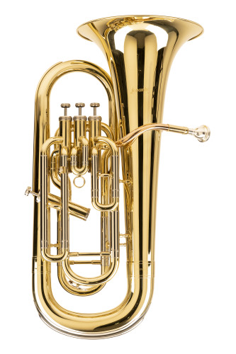 Bb Euphonium, 3+1 piston valves