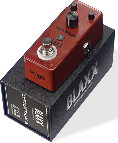 BLAXX Distortion pedal for electric guitar