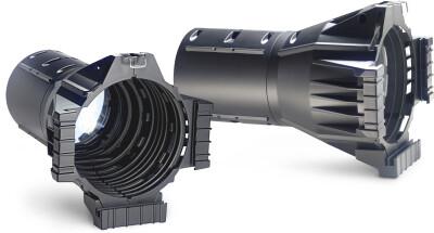 50°-lens voor zwarte SLP200D podiumspot