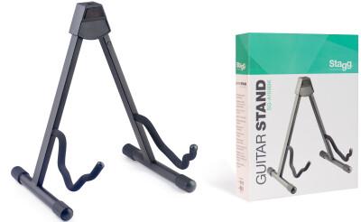 Zusammen klappbarer A-Ständer für Akustik-, E- oder Bassgitarre