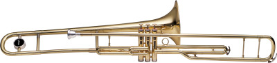 Bb Valve Trombone, 3 piston valves, S-bore