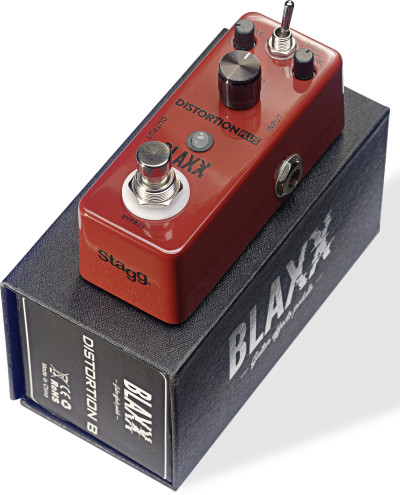 BLAXX 3-mode Distortion pedal for electric guitar