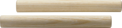 Pair of small round wooden claves