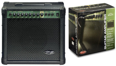 20 W RMS Guitar Amplifier with spring reverbrc-p