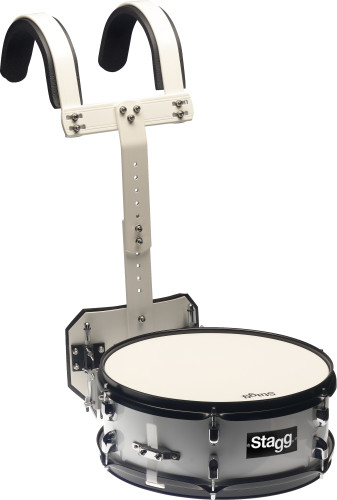"14"" x 5.5"" Marching Snare-Drum mit Tragegestell"