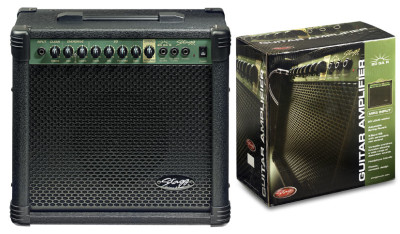 20 W RMS Guitar Amplifier with spring reverb