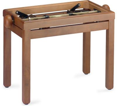 Matt, Klavierbank, Farbe Wildkirsch, ohne Sitzfläche
