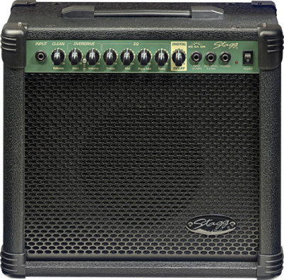 20 W RMS Guitar Amplifier with digital reverb