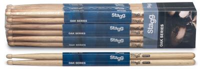 Pair of Oak Sticks/7A - Wooden Tip