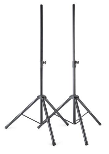 Metall Lautsprecherstativ Paar mit einklappbaren Füßen