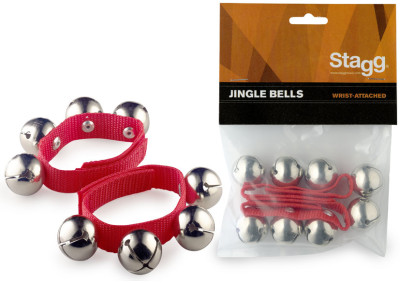 Bracelets à cloches (2 pièces) - 4 cloches par bracelet
