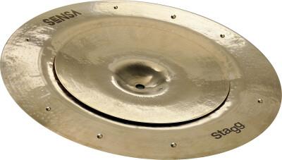 "Ensemble de cymbales SENSA Brilliant - Stack (10"" + 16"" sizzle)"