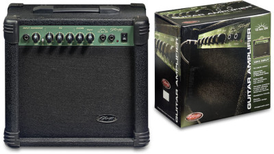 15 W RMS Guitar Amplifier with digital reverb