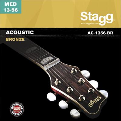 Jeu de cordes bronze pour guitare acoustique