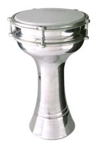 17 cm gladde aluminium Darbuka