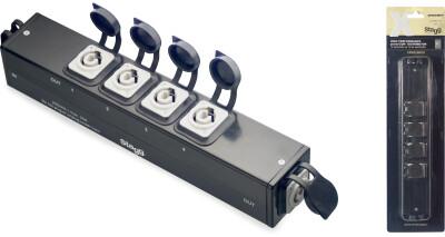 X-Series Neutrik PowerCON 5-way Distributor
