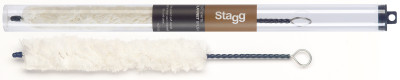 Soft white clarinet brush