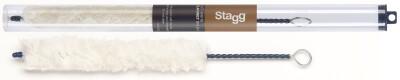Soft white clarinet brush