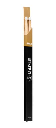 Pair of Maple Sticks/7AN - Nylon Tip