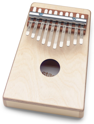KALIMBA ENFANT 10 KEYS NATUREL