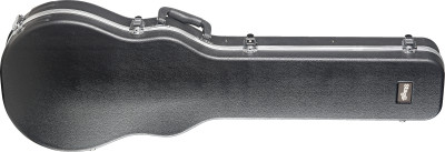 Standard series medium weight ABS hardshell case for Les Paul-style electric guitar