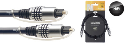 N-series Toslink to Toslink 1-metre audio cable