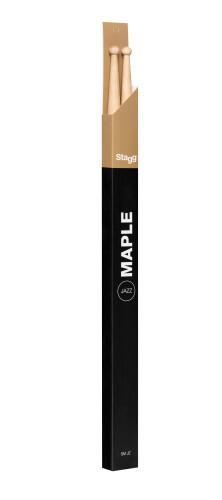 Pair of Maple Sticks/Jazz - Wooden Tip