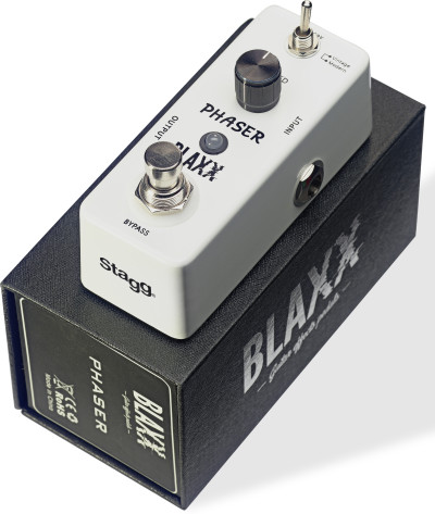 BLAXX 2-mode Phaser pedal for electric guitar