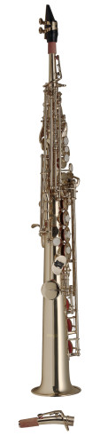 Bb-Soprano Saxophone, straight body, in ABS case