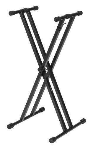 Double Braced X-style Keyboard Stand - To Be Assembled