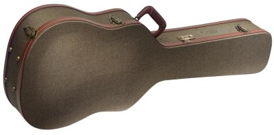 "Etui Deluxe, Tweed bronze, pour guitare western/ dreadnought (41"")"