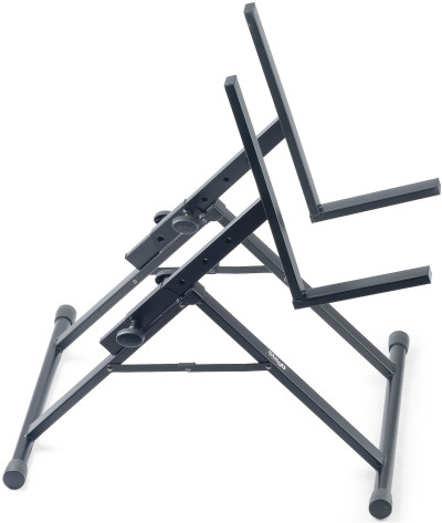 Höhenverstellbares Endstufen/Monitor-Stativ