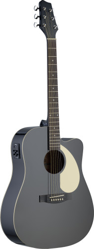 Electro-acoustic Dreadnought guitar with Linden top & CL-4 B-Band
