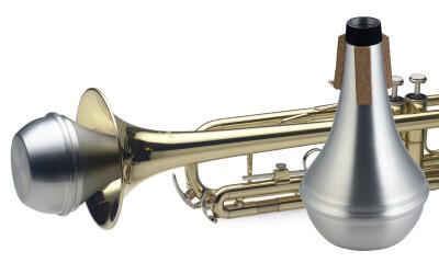 Straight mute, demper voor trompet