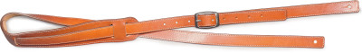 Light brown leather strap for guitar
