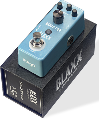 BLAXX Booster pedal for electric guitar